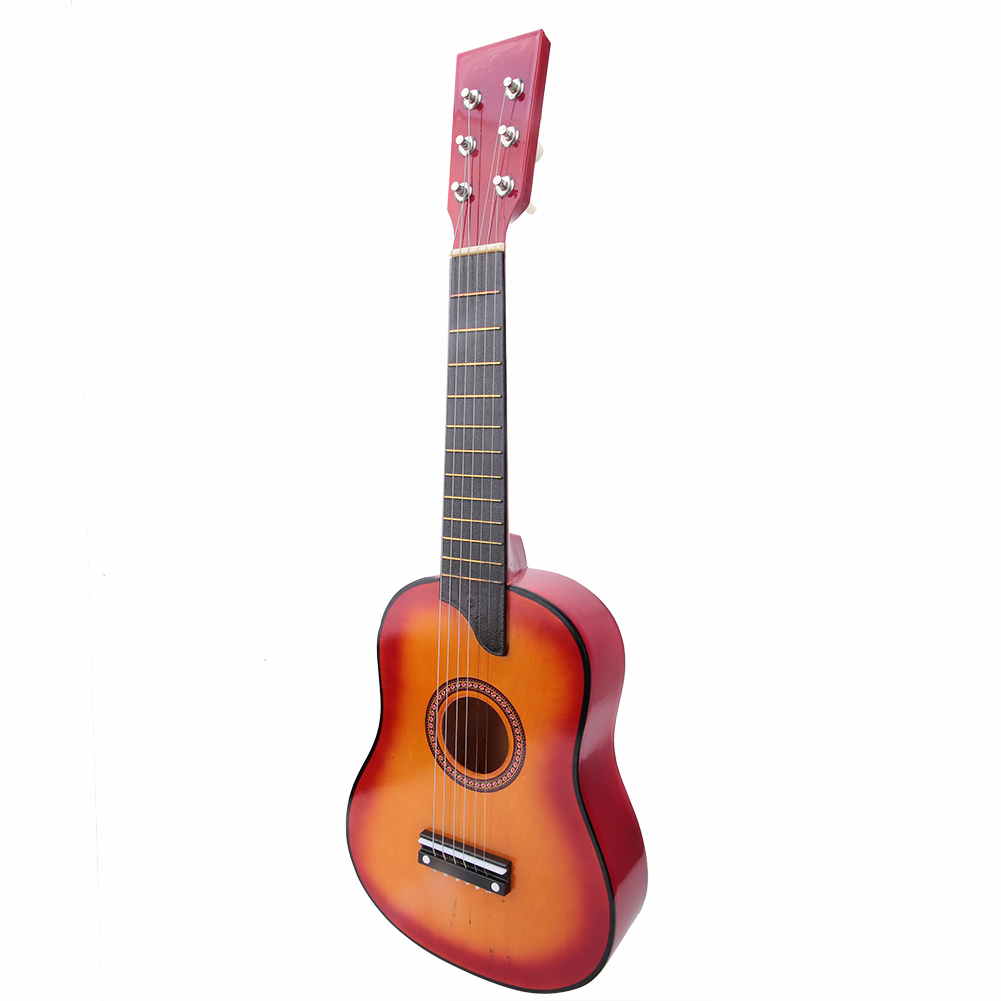 25-Inch-Kids-Acoustic-Guitar-6-String-Musical-Instruments-Toys-Gift-with-Case thumbnail 15