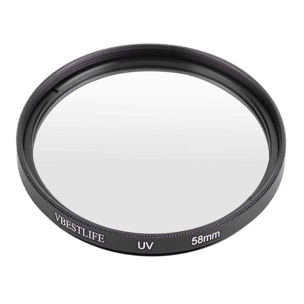 Vbestlife-Slim-UV-Lens-Schutz-Filter-fuer-Sony-Canon-Nikon-49mm-52mm-55mm Indexbild 20