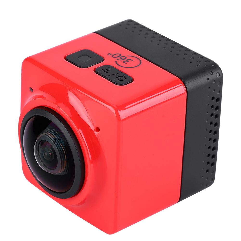 360-HD-Camera-Panoramique-WiFi-Mini-Appareil-Photo-Numerique-Exterieur-Etanche miniature 12