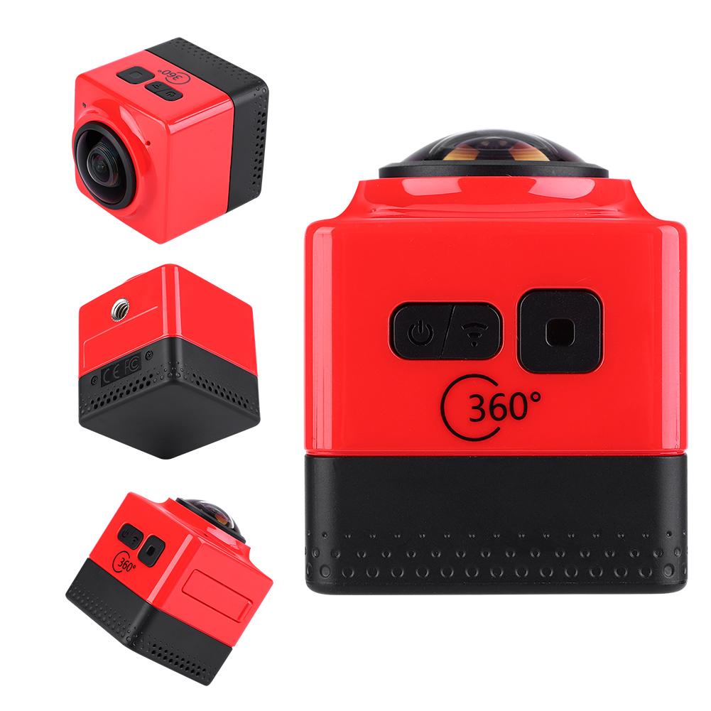 360-HD-Camera-Panoramique-WiFi-Mini-Appareil-Photo-Numerique-Exterieur-Etanche miniature 13
