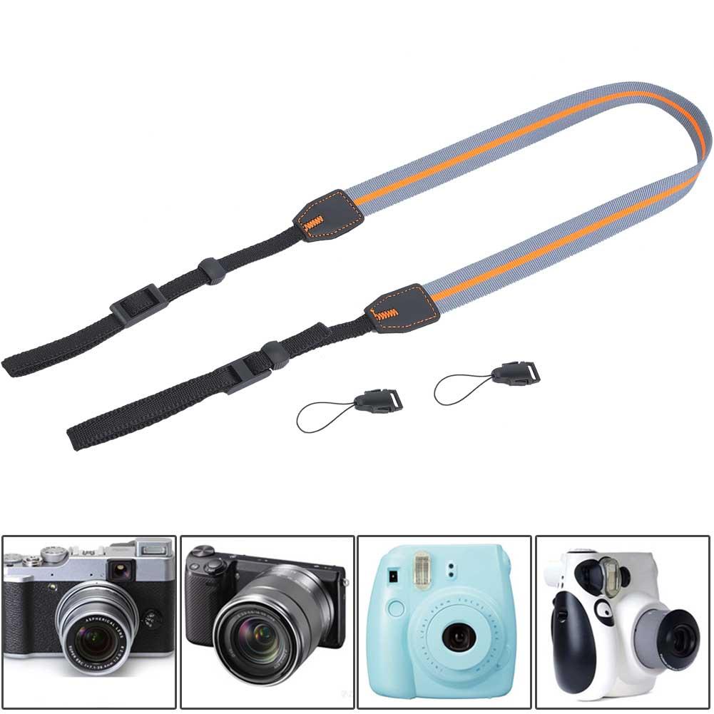 Universal-Durable-Adjustable-Camera-Shoulder-Neck-Belt-Strap-for-SLR-DSLR-Camera thumbnail 14
