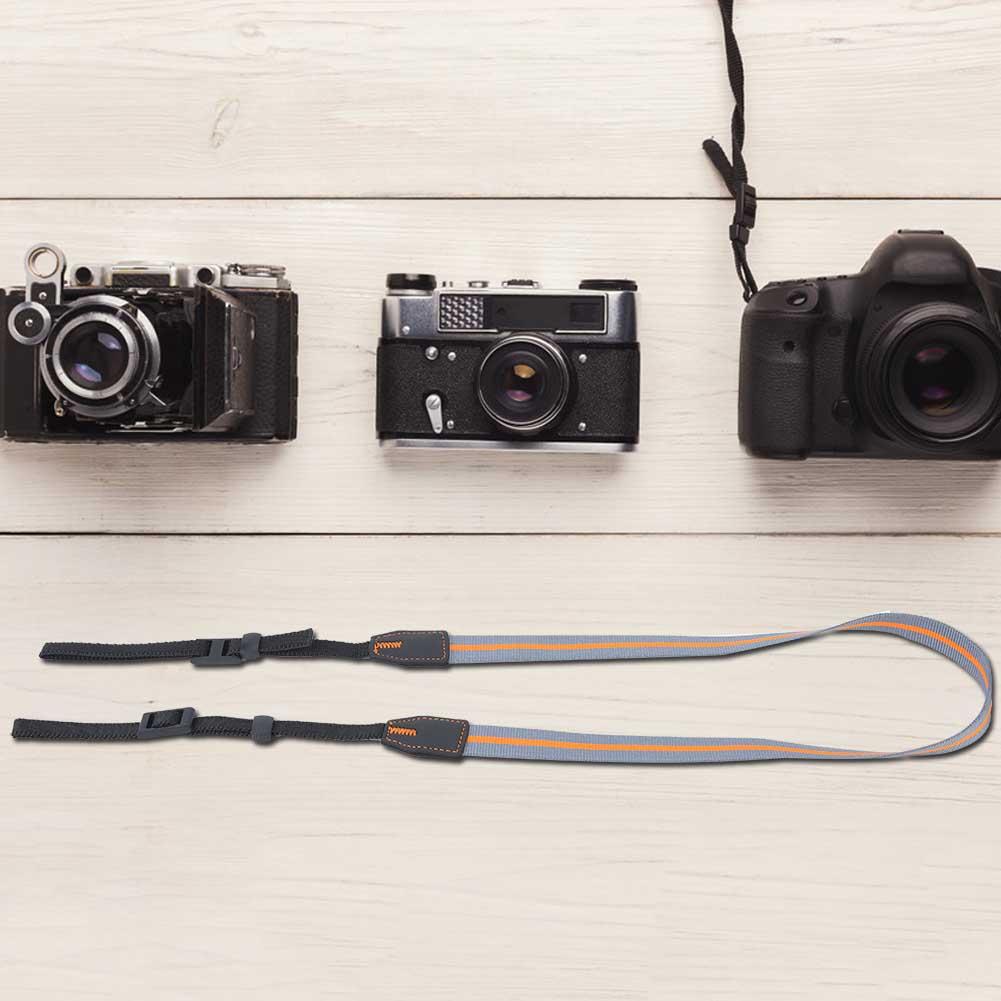 Universal-Durable-Adjustable-Camera-Shoulder-Neck-Belt-Strap-for-SLR-DSLR-Camera thumbnail 15