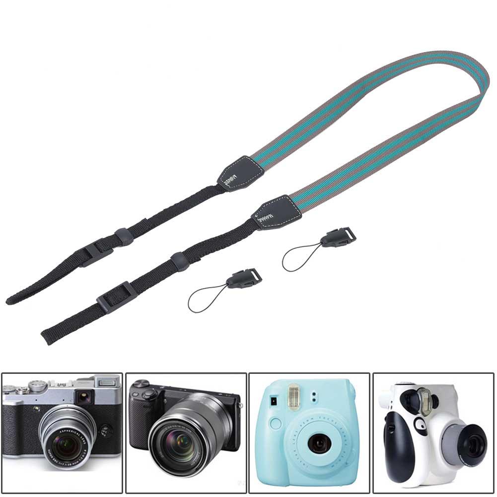Universal-Durable-Adjustable-Camera-Shoulder-Neck-Belt-Strap-for-SLR-DSLR-Camera thumbnail 20