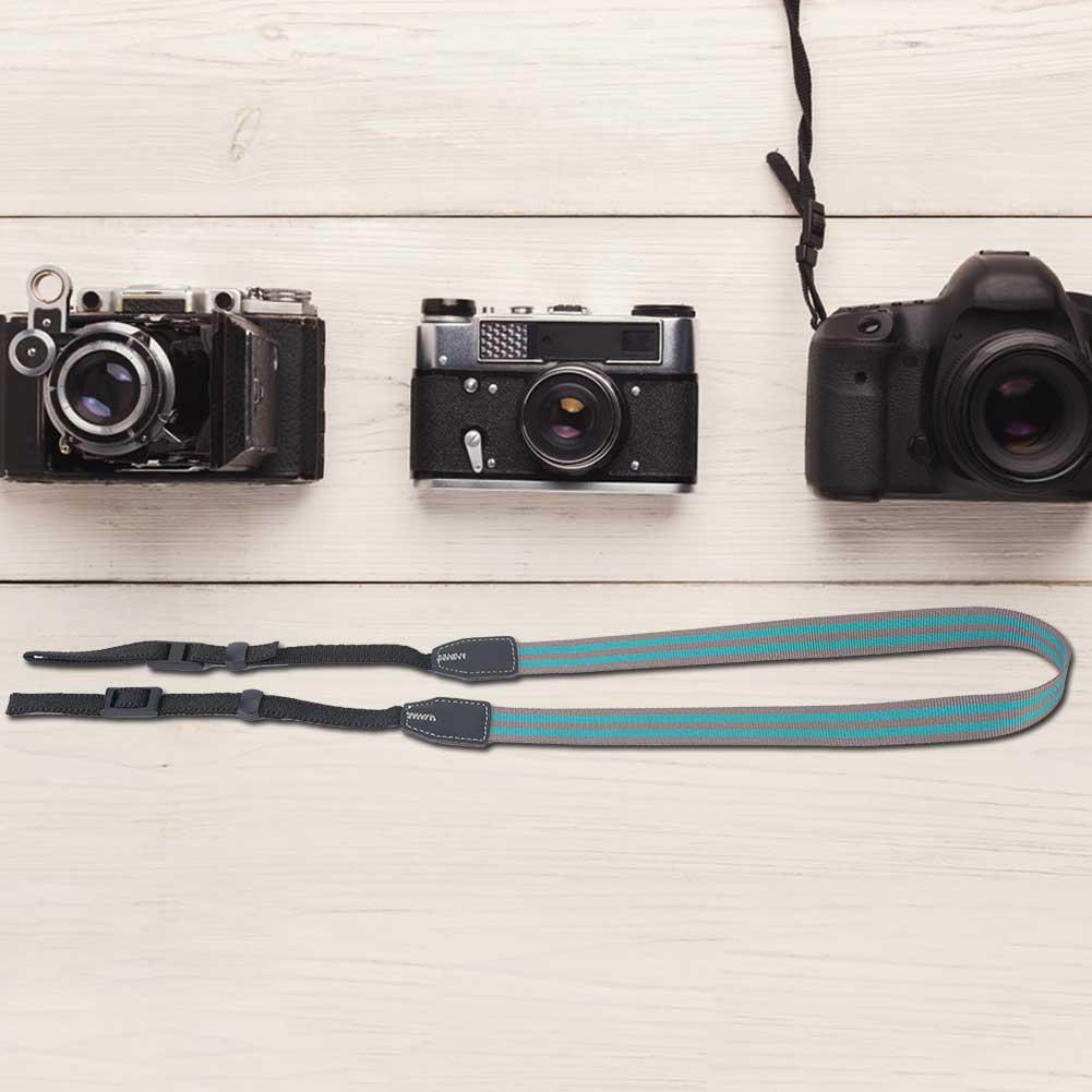 Universal-Durable-Adjustable-Camera-Shoulder-Neck-Belt-Strap-for-SLR-DSLR-Camera thumbnail 21