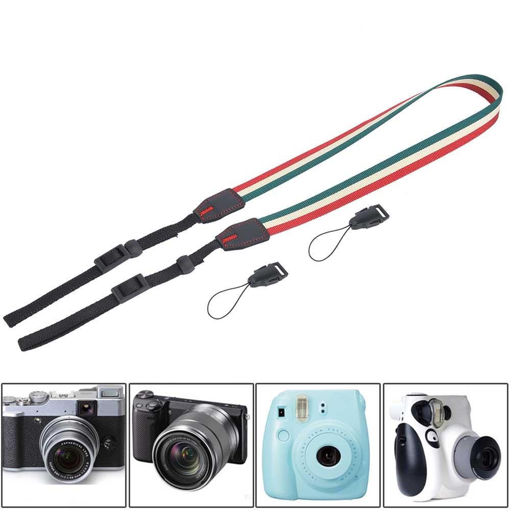 Universal-Durable-Adjustable-Camera-Shoulder-Neck-Belt-Strap-for-SLR-DSLR-Camera thumbnail 23