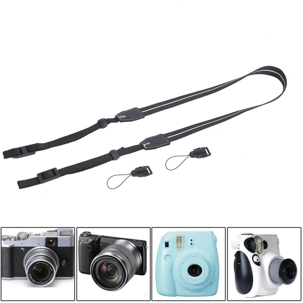Universal-Durable-Adjustable-Camera-Shoulder-Neck-Belt-Strap-for-SLR-DSLR-Camera thumbnail 29