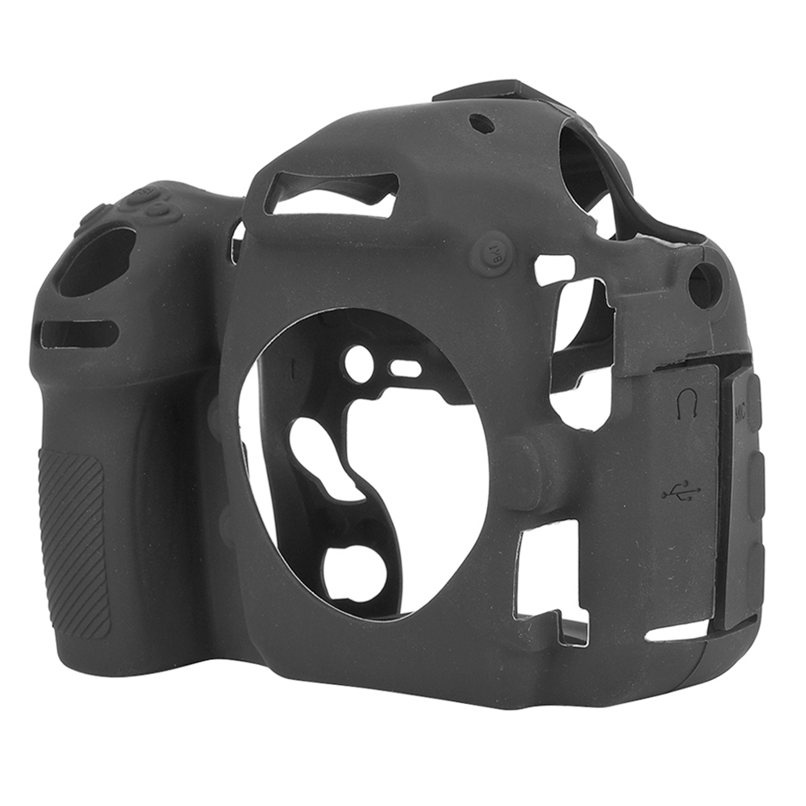 Funda-de-Silicona-Suave-a-Prueba-De-Golpes-Funda-Protectora-De-Camara-Para-Nikon-D5300-D7500-D3400 miniatura 32