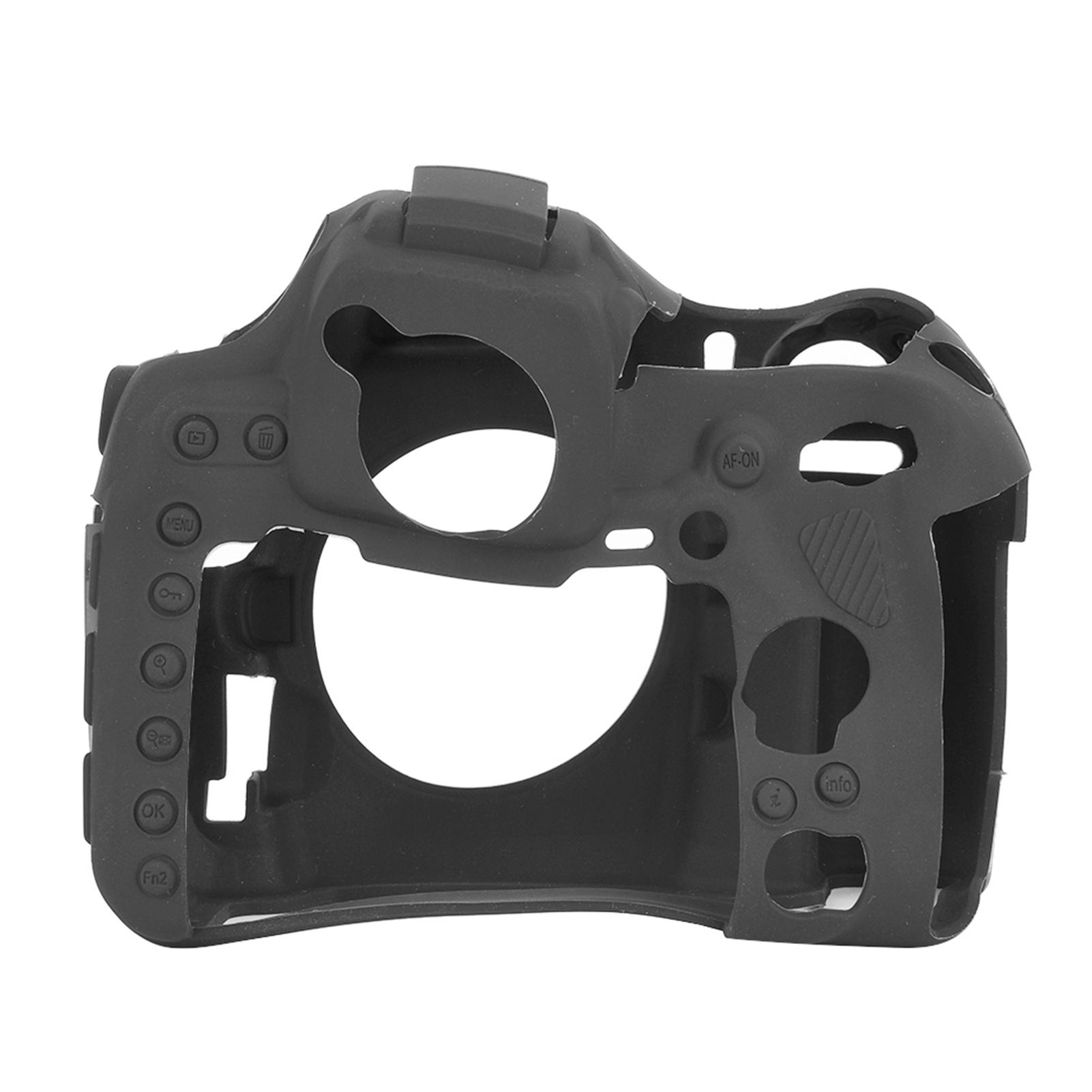 Funda-de-Silicona-Suave-a-Prueba-De-Golpes-Funda-Protectora-De-Camara-Para-Nikon-D5300-D7500-D3400 miniatura 33