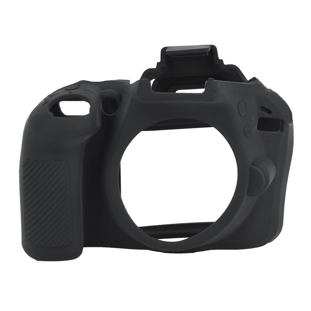 Funda-de-Silicona-Suave-a-Prueba-De-Golpes-Funda-Protectora-De-Camara-Para-Nikon-D5300-D7500-D3400 miniatura 30