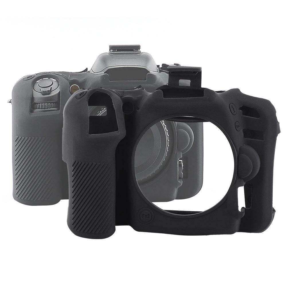 Funda-de-Silicona-Suave-a-Prueba-De-Golpes-Funda-Protectora-De-Camara-Para-Nikon-D5300-D7500-D3400 miniatura 21
