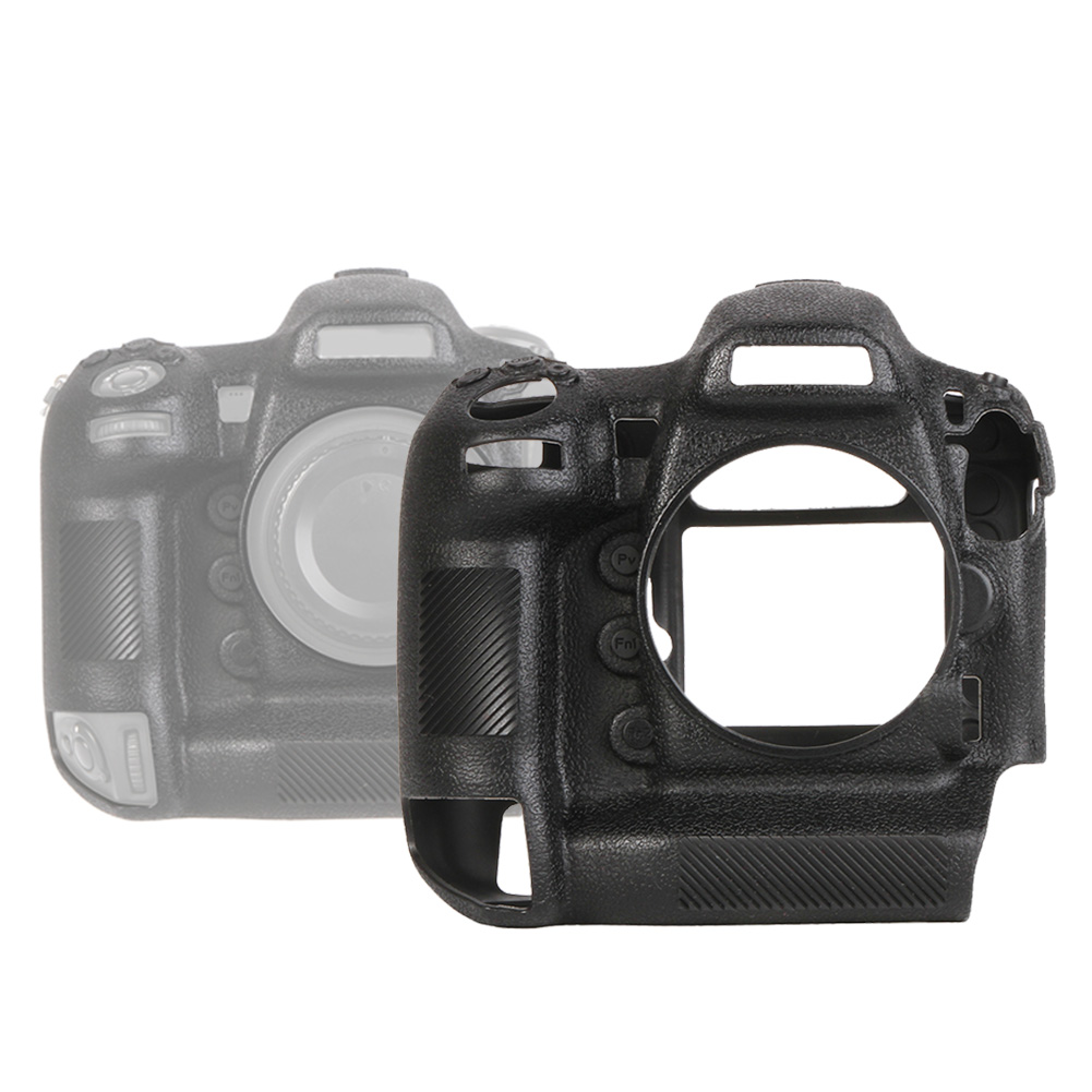Funda-de-Silicona-Suave-a-Prueba-De-Golpes-Funda-Protectora-De-Camara-Para-Nikon-D5300-D7500-D3400 miniatura 48