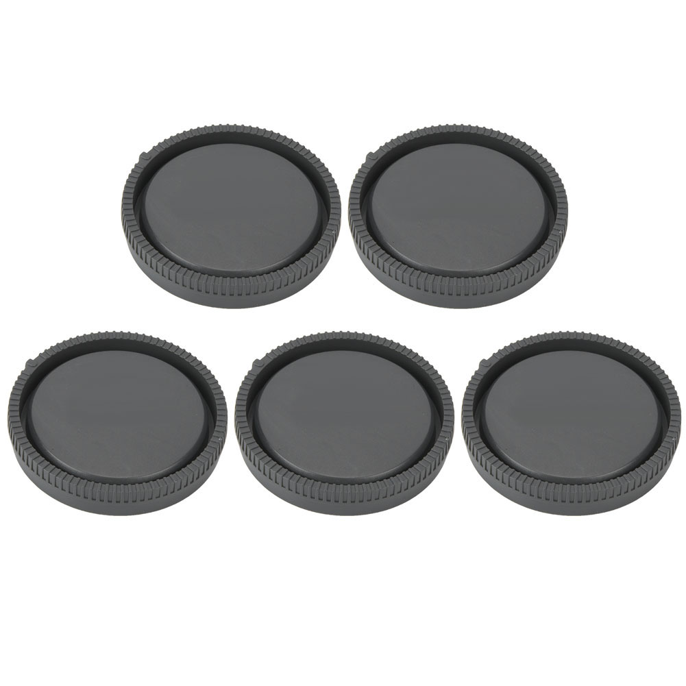 5PCS-Rear-Cap-Protective-Lens-Cover-Fits-for-Canon-EOS-M-for-Leica-Nikon-Sony-LS thumbnail 35