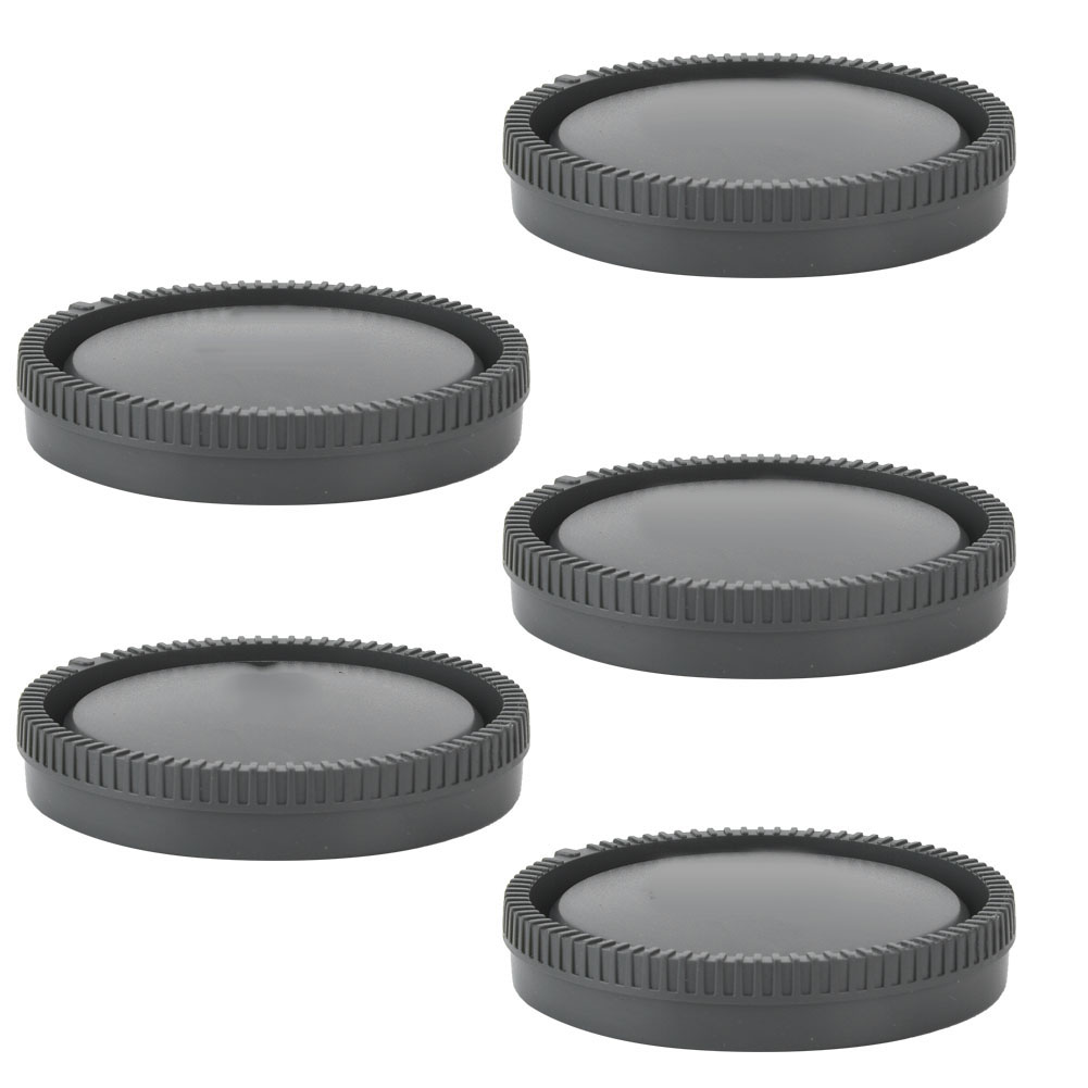 5PCS-Rear-Cap-Protective-Lens-Cover-Fits-for-Canon-EOS-M-for-Leica-Nikon-Sony-LS thumbnail 36