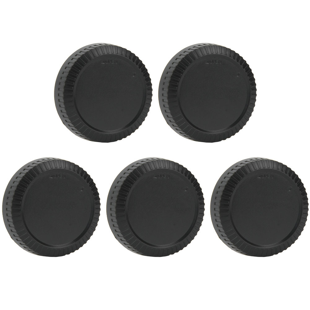 5PCS-Rear-Cap-Protective-Lens-Cover-Fits-for-Canon-EOS-M-for-Leica-Nikon-Sony-LS thumbnail 27