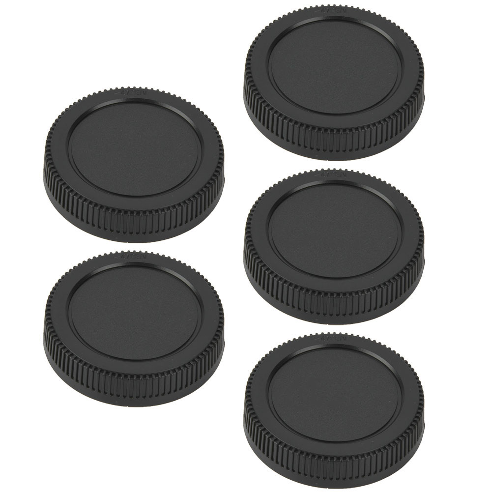 5PCS-Rear-Cap-Protective-Lens-Cover-Fits-for-Canon-EOS-M-for-Leica-Nikon-Sony-LS thumbnail 23