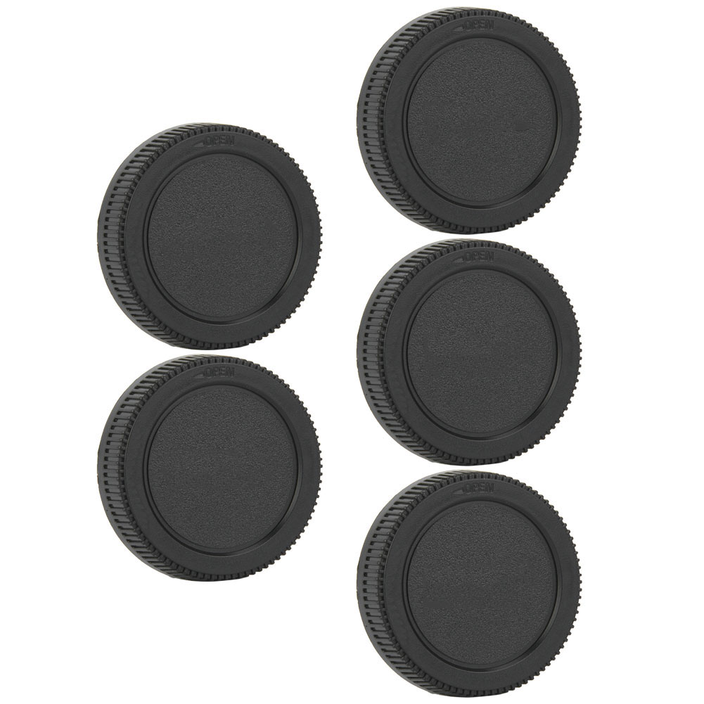 5PCS-Rear-Cap-Protective-Lens-Cover-Fits-for-Canon-EOS-M-for-Leica-Nikon-Sony-LS thumbnail 24
