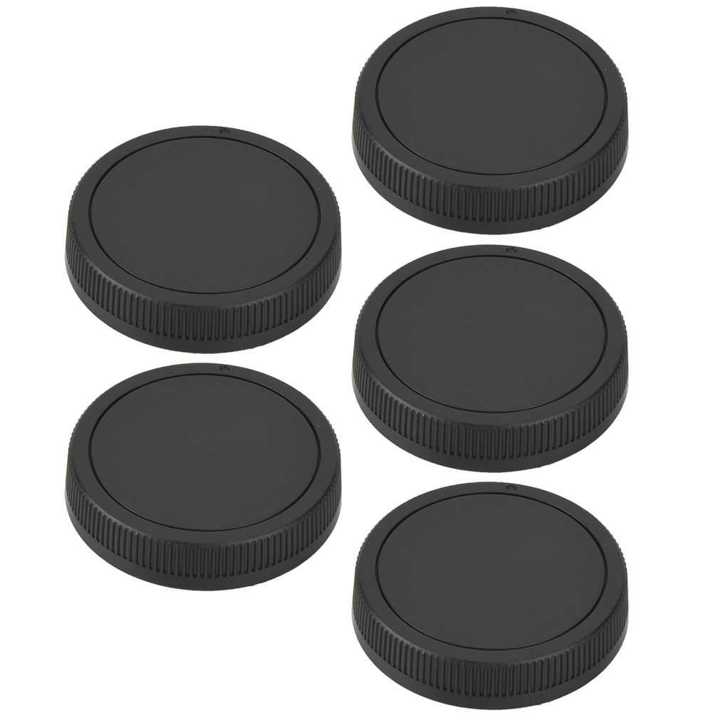 5PCS-Rear-Cap-Protective-Lens-Cover-Fits-for-Canon-EOS-M-for-Leica-Nikon-Sony-LS thumbnail 20