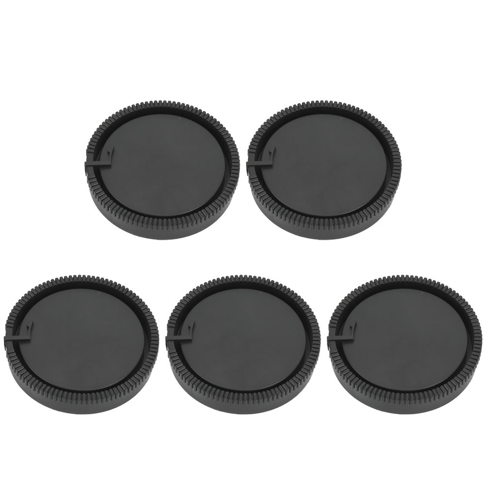 5PCS-Rear-Cap-Protective-Lens-Cover-Fits-for-Canon-EOS-M-for-Leica-Nikon-Sony-LS thumbnail 17