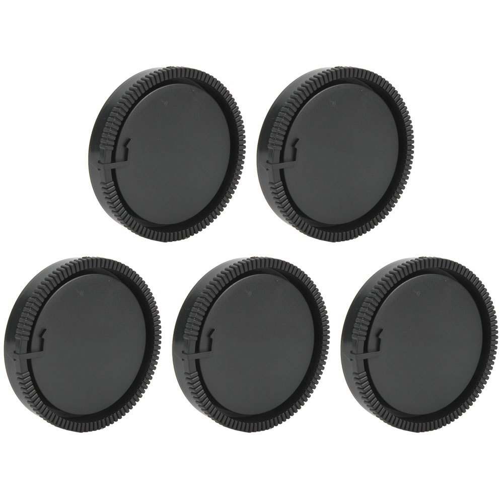 5PCS-Rear-Cap-Protective-Lens-Cover-Fits-for-Canon-EOS-M-for-Leica-Nikon-Sony-LS thumbnail 18