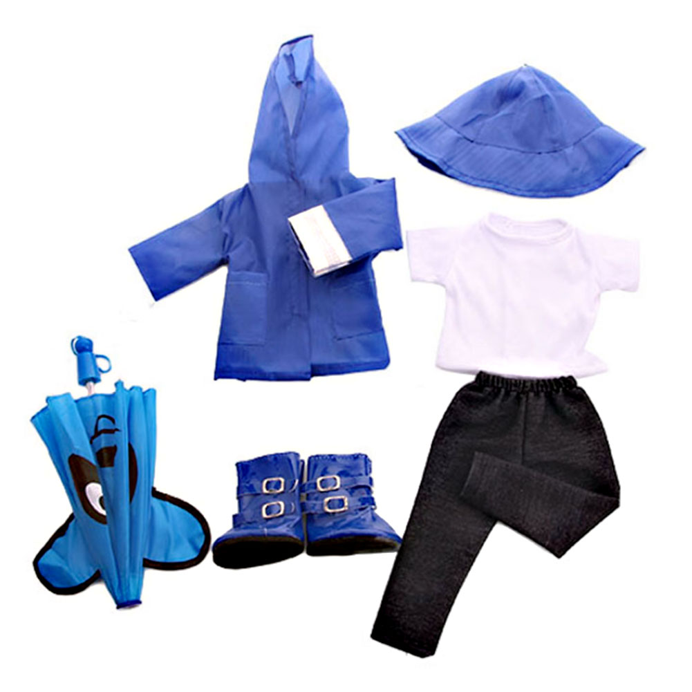 Doll-outfit-set-for-18-inch-baby-dolls-clothes-for-18-034-43-cm-for-new-born-dolls thumbnail 14