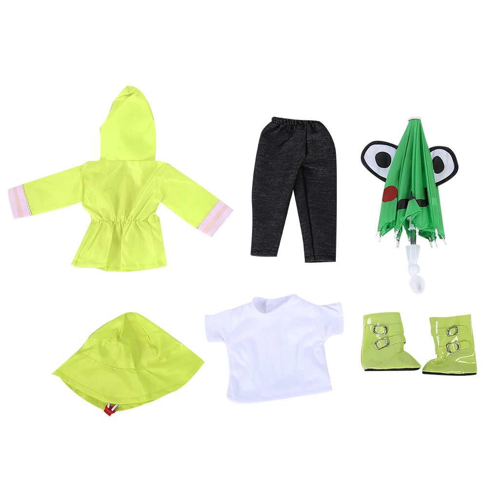 Doll-outfit-set-for-18-inch-baby-dolls-clothes-for-18-034-43-cm-for-new-born-dolls thumbnail 19