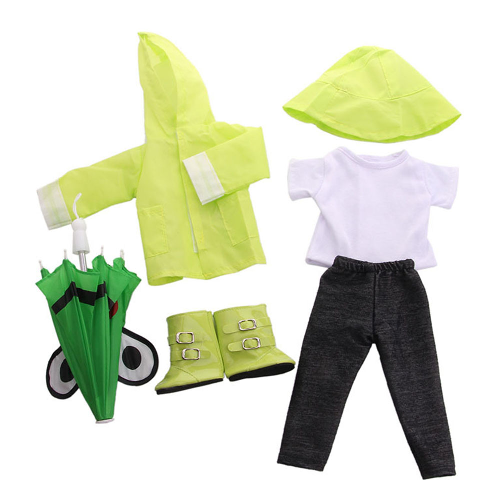 Doll-outfit-set-for-18-inch-baby-dolls-clothes-for-18-034-43-cm-for-new-born-dolls thumbnail 20