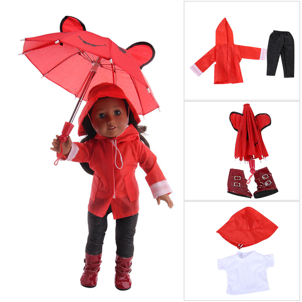 Doll-outfit-set-for-18-inch-baby-dolls-clothes-for-18-034-43-cm-for-new-born-dolls thumbnail 22