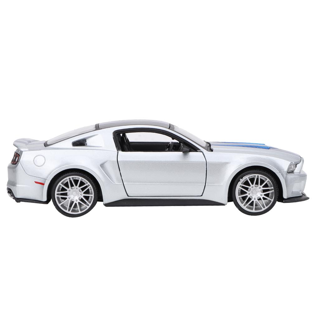 Bicaquu 1:24 Miniature Alliage Voiture De Course Mod/èle Mustang Jouet Collection Cadeau D/écoration D/écoration pour Collection Cadeau Hme D/écoration