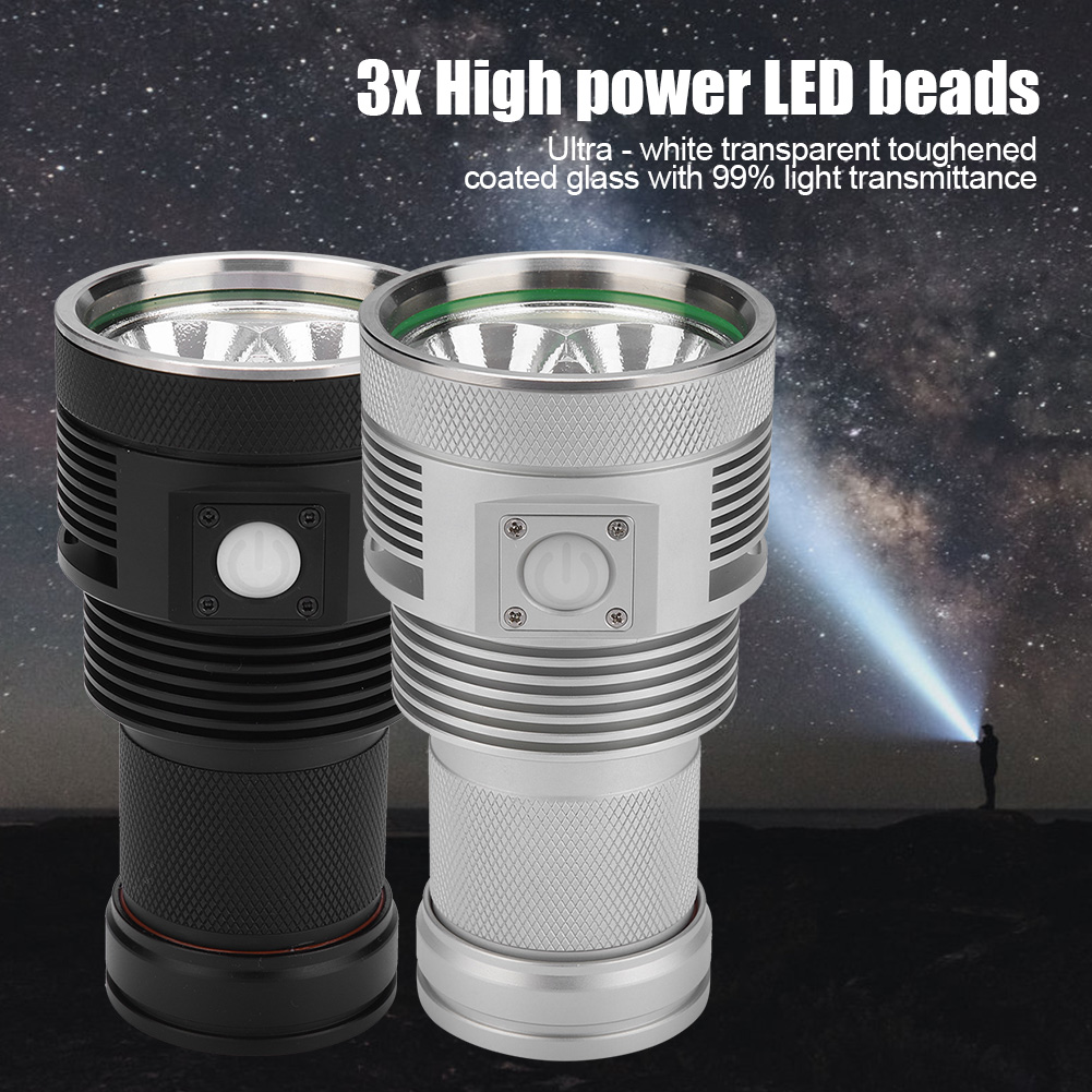 XHP70 LED 13000LM High Power Outdoor Emergency Light Flashlight Torch Waterproof