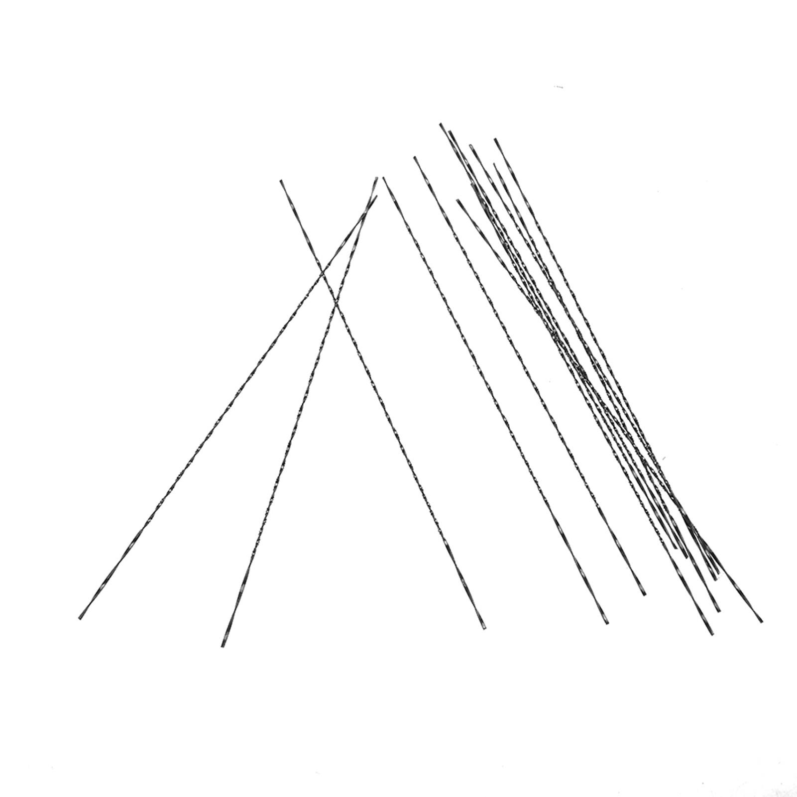 Indexbild 33 - 12pcs Carbon Steel Scroll Saw Blades With Spiral Teeth Wood Cutting Tools AU