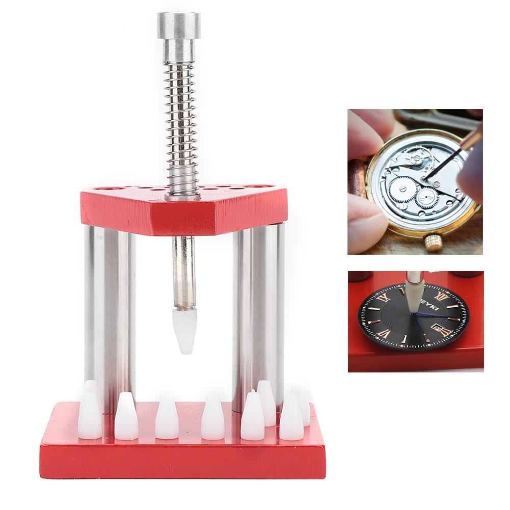 1-3-5-Koepfe-Uhrmacher-039-s-watch-hand-Presser-Pusher-Tools-Hand-Monteur-Presse-Sets Indexbild 15