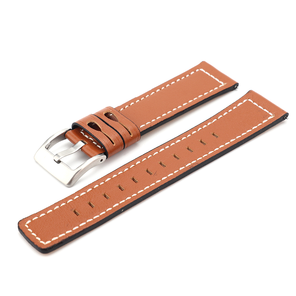 Cowhide-Leather-Watchbands-Men-Women-Watch-Band-Strap-Blet-For-Gear-S2-S4 thumbnail 14