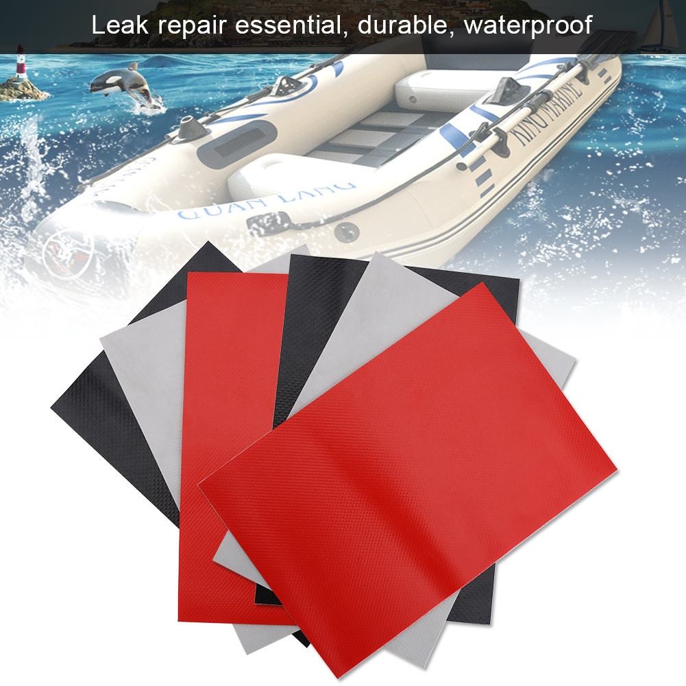 PVC Material Repair Patch Inflatable Boat Dinghy Inflatable Boats Portable+Glue