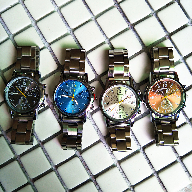 Fashion-Mens-Analog-Quartz-Watch-Stainless-Steel-Band-Alloy-Wrist-Watches-Cheap