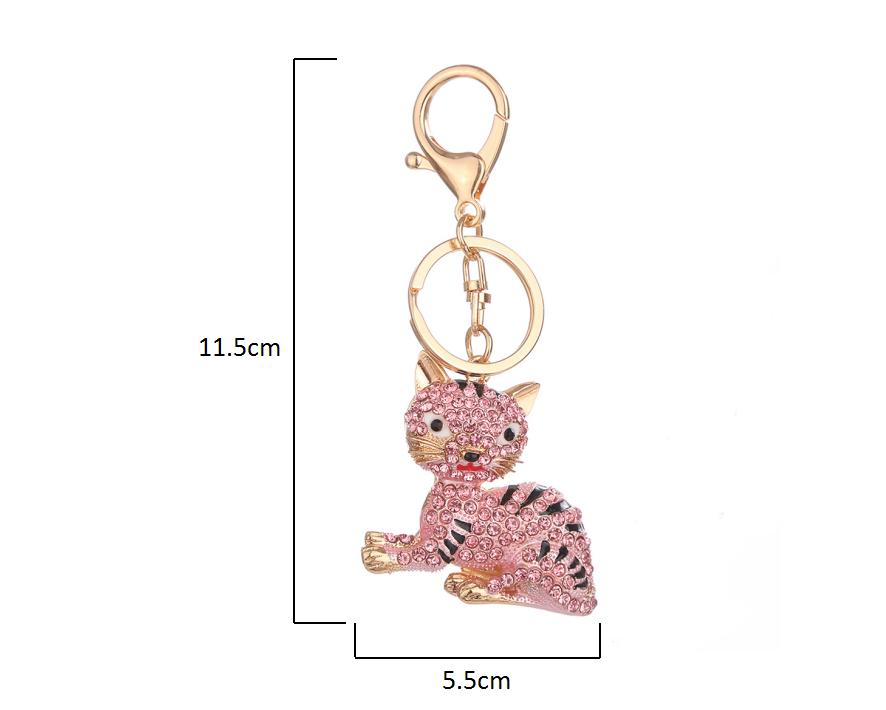 Handbag-Keychains-Crystal-Rhinestone-Charm-Keyring-Bag-Purse-Pendant-Key-Chain thumbnail 31