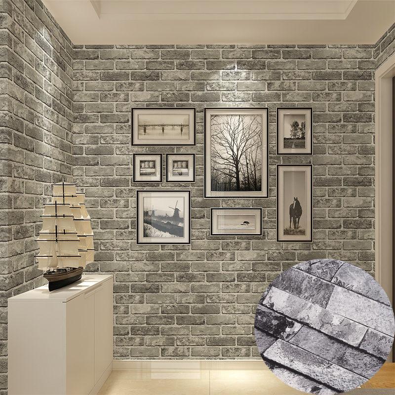 Stone Effect Wallpaper Living Room Living Room Ideas