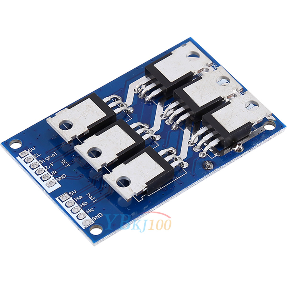 dc 12v 36v 15a 500w brushless motor controller hall bldc. Black Bedroom Furniture Sets. Home Design Ideas