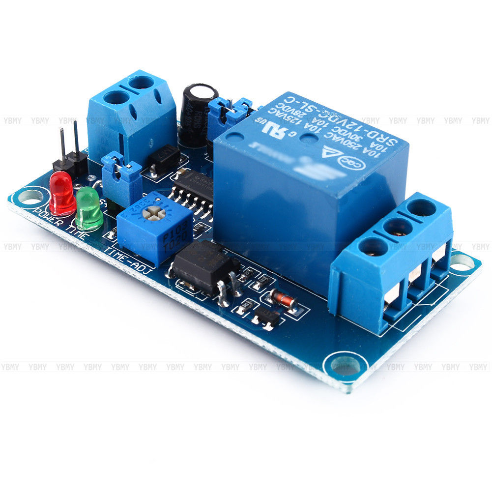 12v Dc Relay Switch Module Trigger Delay Turn On Off Power Circuit