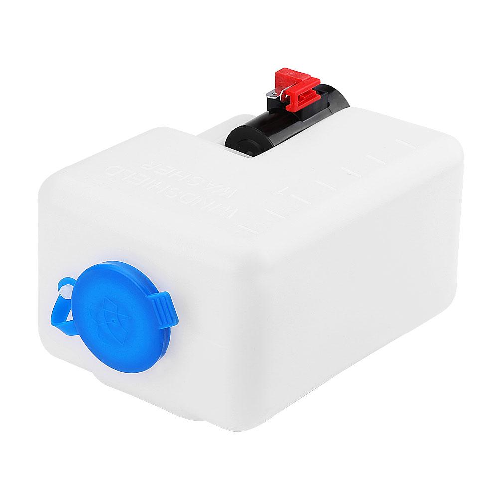 12v Universal Car Windshield Washer Reservoir Pump Bottle