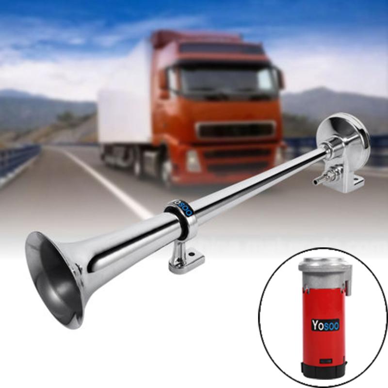 12v 150db druckluft horn fanfare hupe f r f r auto pkw. Black Bedroom Furniture Sets. Home Design Ideas