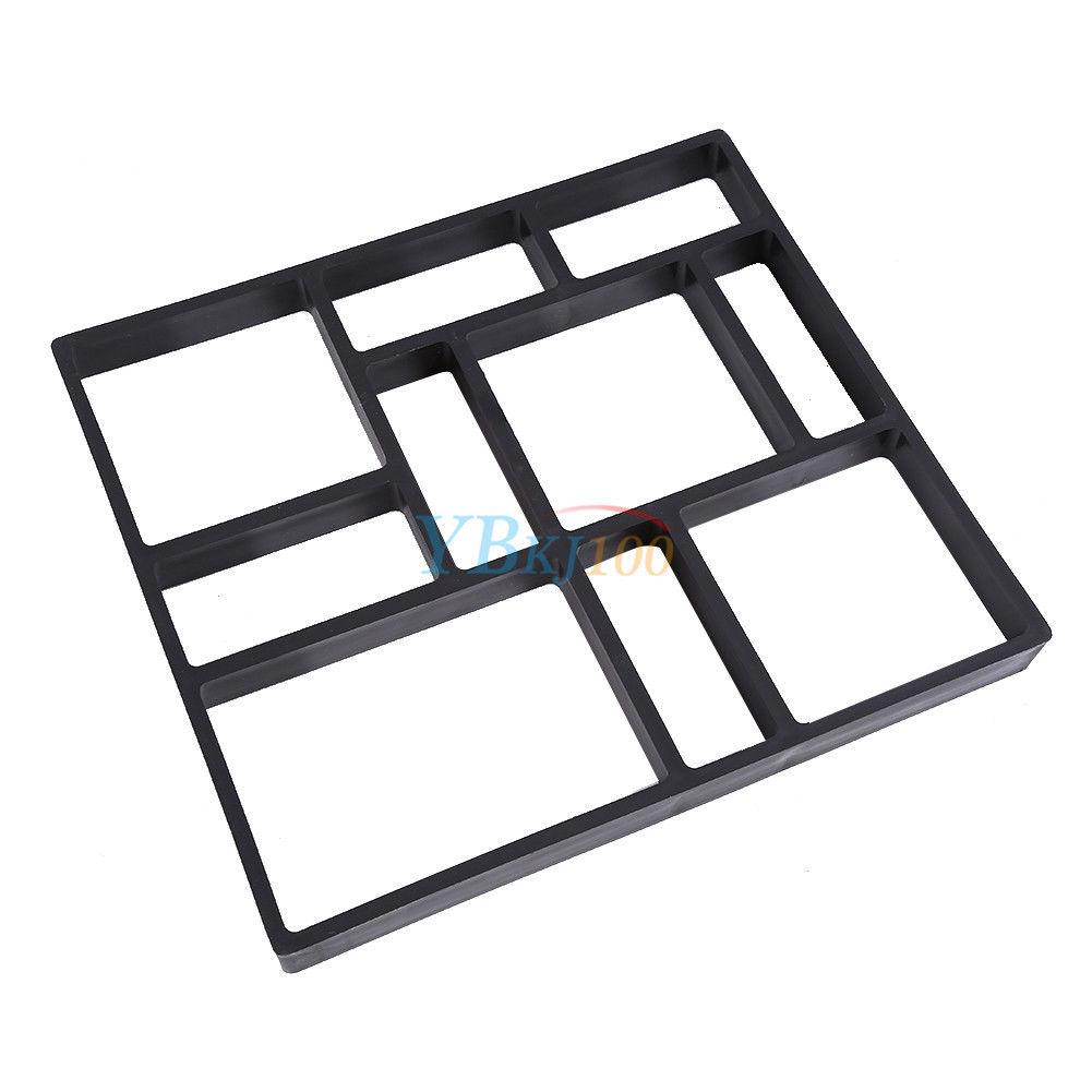 bricolage pav b ton dalles chemin jardin promenade brique moule 45x40cm 60x50cm ebay. Black Bedroom Furniture Sets. Home Design Ideas