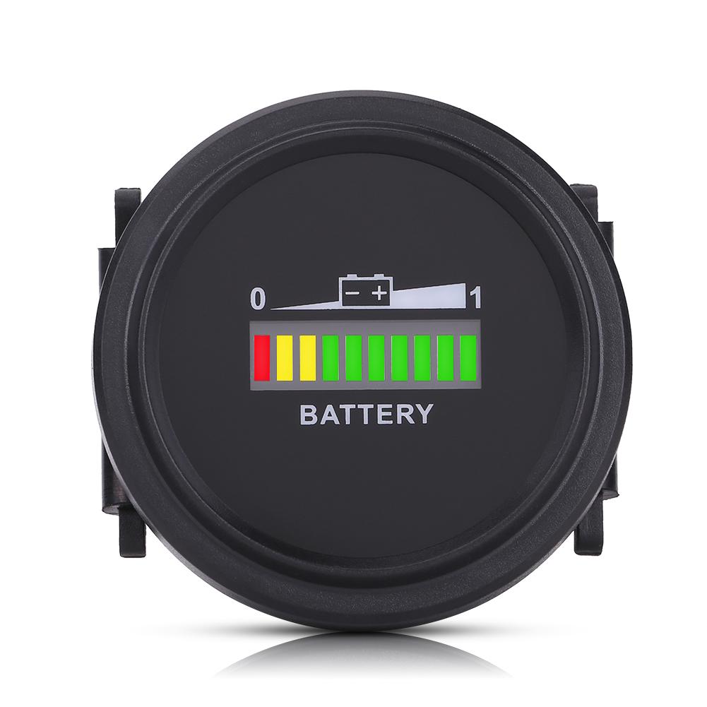12v  24v  36v  48v  72v Dc Led Battery State Of Charge