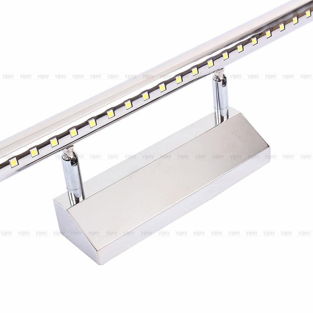 15w led spiegelleuchte spiegellampe badlampe bilderlampe wandleucht mit schalter ebay. Black Bedroom Furniture Sets. Home Design Ideas