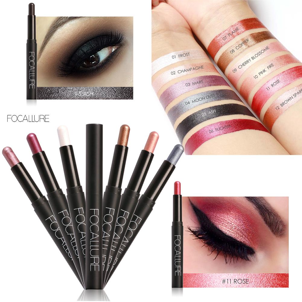 Focallure Waterproof Makeup Cosmetic Eyeliner Eye Shadow Stick Pen