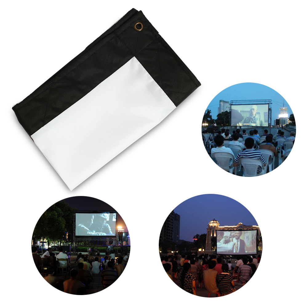 60 200 Quot Inch 16 9 Portable Beamer Hd Projector Projection