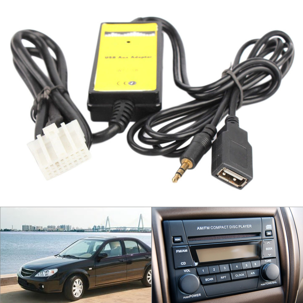 Audio Mp3 Usb Interface Aux Adapter 35mm Cable For Mazda 3 6 Cx 7 Ac Plug Wiring Parts Rx 8 Mx 5 Ss