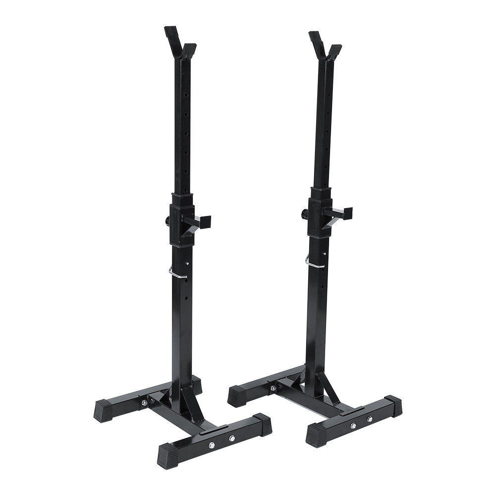 Power Rack Bench Press Safety: Workout Squat Rack Stand Power Stands Barbell Adjustable