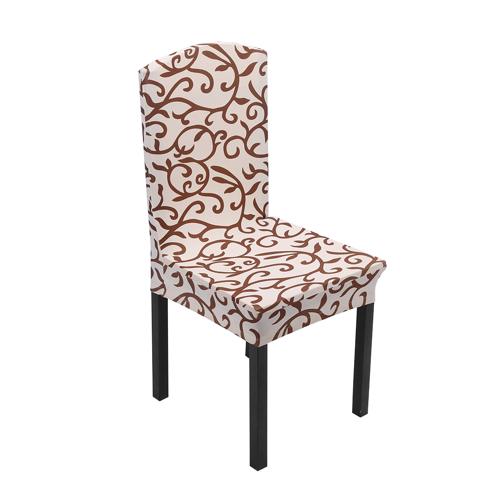 Stretch Dinner Chair Seat Cover Home Kitchen Dining Romm