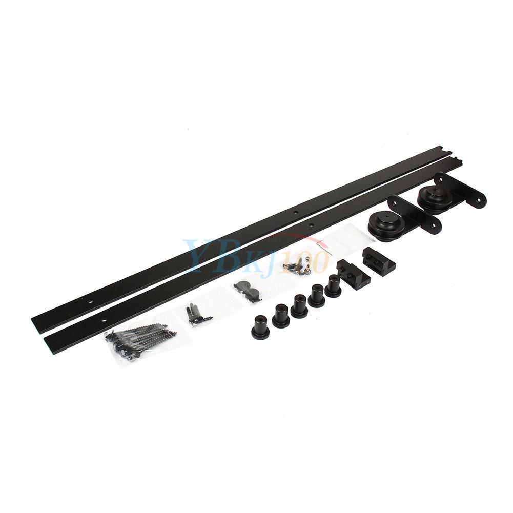 2000mm Schiebetürsystem Schiebetür Beschlag Laufschiene 3 Modell Life 01 1830