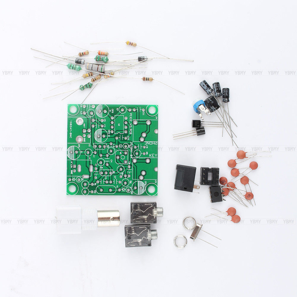 Digital Tv Transmitter Circuit Guide And Troubleshooting Of Wiring Diagram 7 023 026mhz Ham Radio Cw Qrp Pixie Diy Kit Am